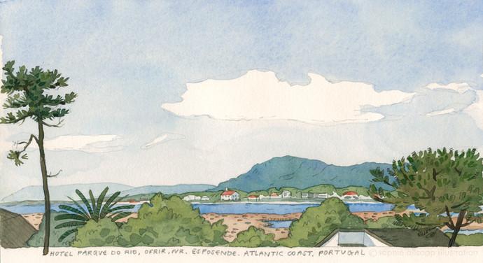 View of Esposende, Portugal