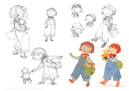 Girl character studies
