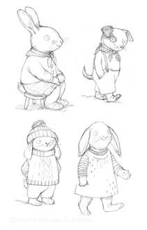 Animal character studies