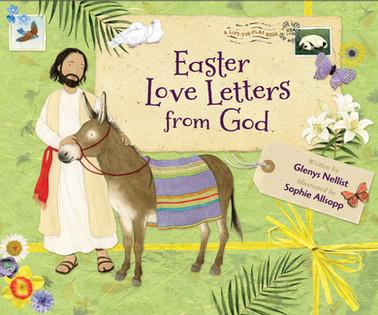 Easter Love Letters from God - Zonderkidz