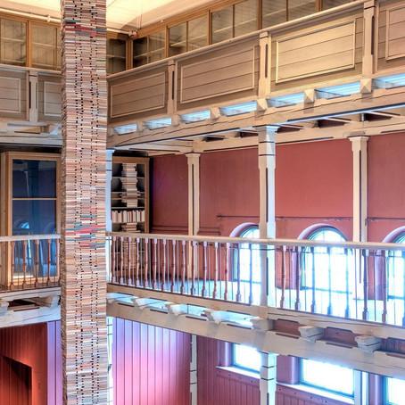 RUNE GUNERIUSSEN: INSTALLAZIONE PERMANENTE ALL' UNIVERSITY MUSEUM DI BERGEN IN NORVEGIA