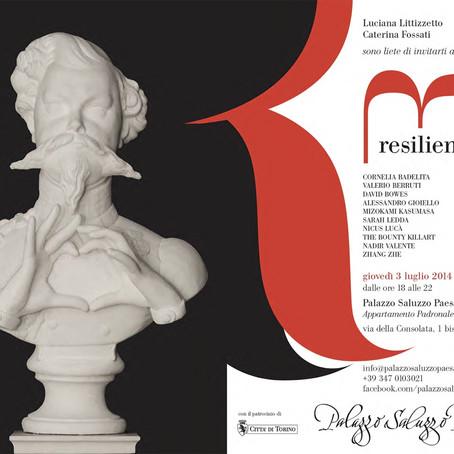Valerio Berruti a Torino, nella mostra Relienze 2.0, curata da Luciana Litizzetto e Caterina Fossati