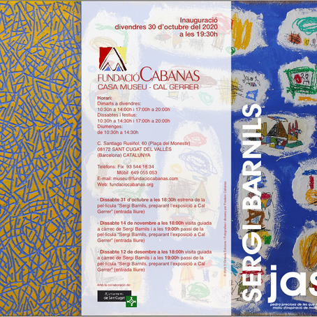 Sergi Barnils espone a Sant Cugat alla casa Museo Fundaciò Cabanas
