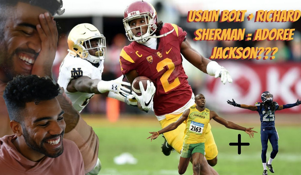 The Most Dangerous Player in College Football- Adoree Jackson Highlight [Reaction]