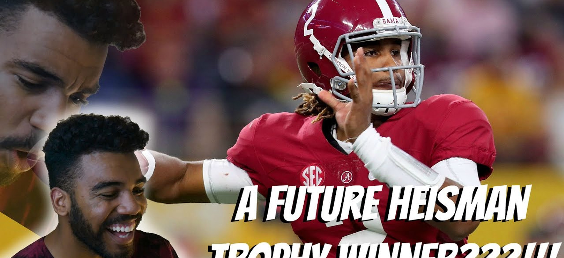 The Nation's Best Young Quarterback???!!!- Jalen Hurts Highlight [Reaction]