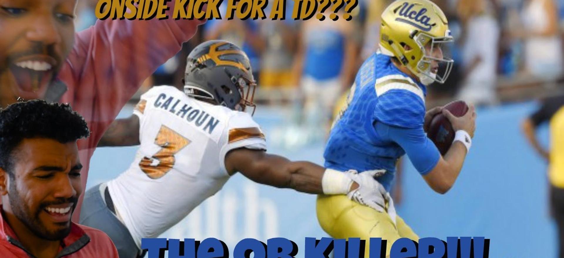 The Human Sledge Hammer- DJ Calhoun Highlight [Reaction]