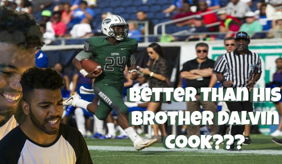 Florida's Best High School Running Back!!!- James Cook Highlight [Reaction]