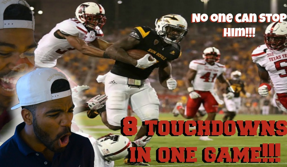 The Touchdown Machine!!!- Kalen Ballage Highlight [Reaction]