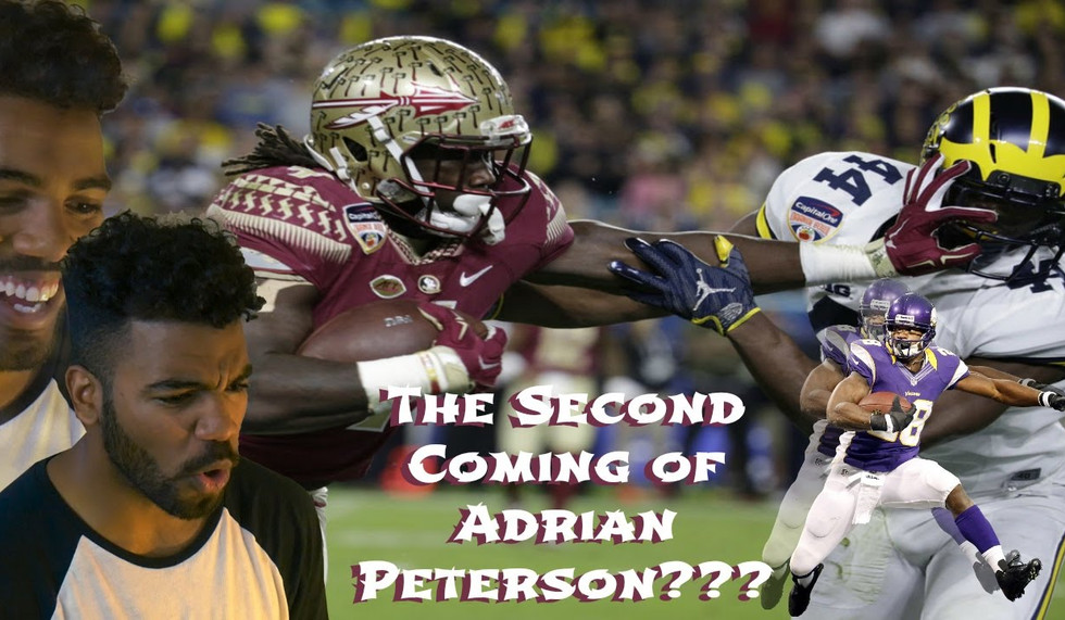 The Next Adrian Peterson???- Dalvin Cook Highlight [Reaction]
