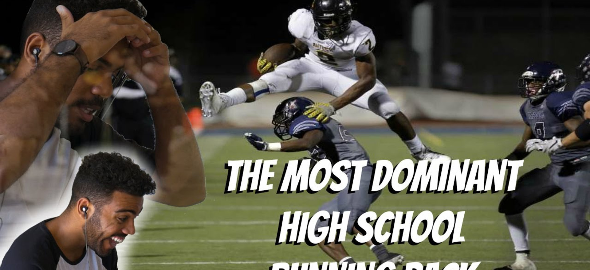 A Monster In High School!!!- Najee Harris Highlight [Reaction]
