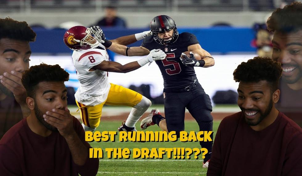 The Best Running Back In The 2017 Draft!!!??? Christian McCaffery Highlight [Reaction]