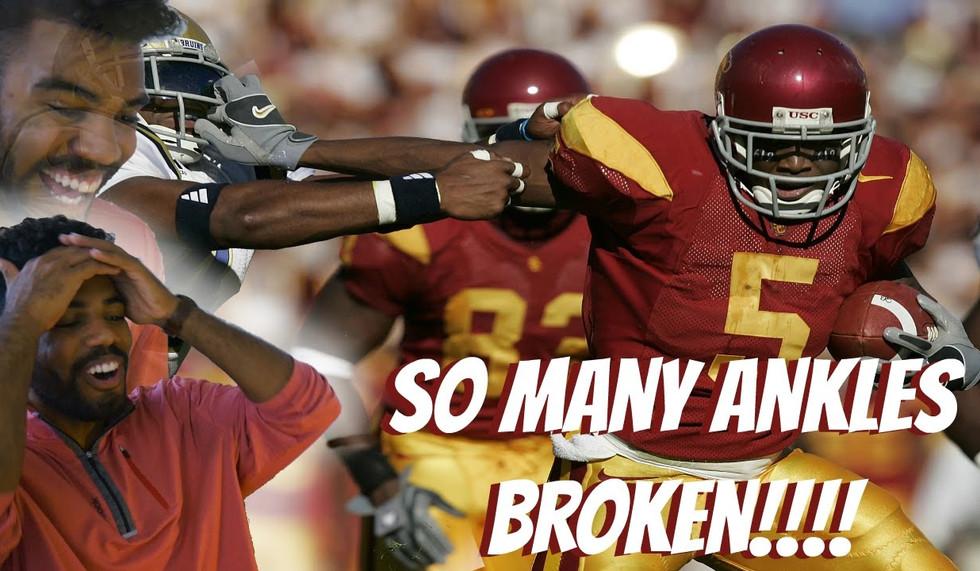 The Greatest College Running Back???- Reggie Bush TBT USC Highlight [Reaction]