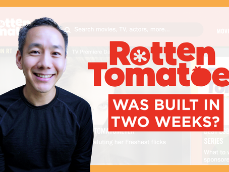 How Rotten Tomatoes Was Built In TWO WEEKS – Patrick Lee, Co-Founder & Ex-CEO