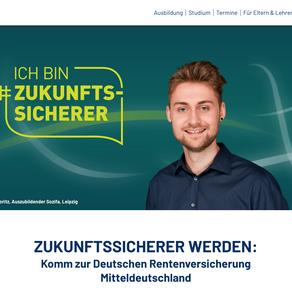Neue Kampagne und Karriere-Website für die Deutsche Rentenversicherung Mitteldeutschland