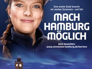 Neue Employer Branding Kampagne der Stromnetz Hamburg GmbH