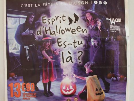 """Halloween, """"La Foir'Fouille"""", la Caisse des dépôts et consignations (CDC), et cie..."""