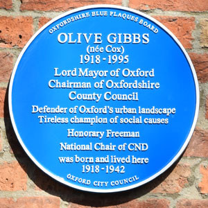 Remembering Olive Gibbs
