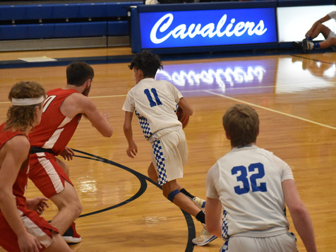 JV Cavs Boys Basketball Grows Through Challenges