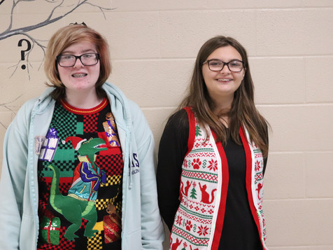 Ugly Sweater Day at CHS