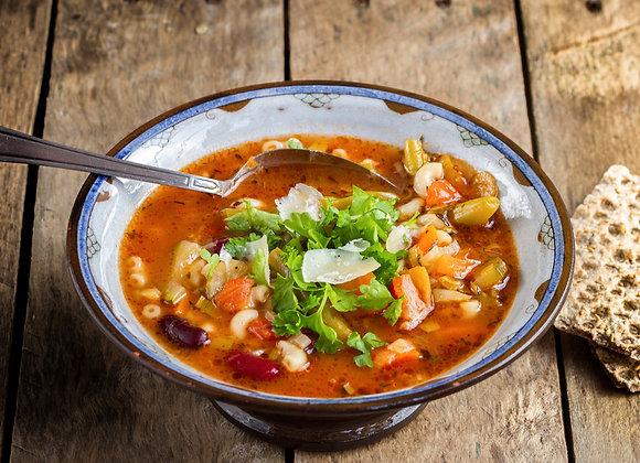 Parmesan Minestrone Soup (quart)