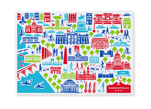 US Capitol Tea Towel