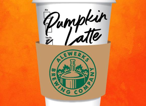 Alewerks Pumpkin Latte (Pumpkin Ale - 4 Pack x 16 oz.)