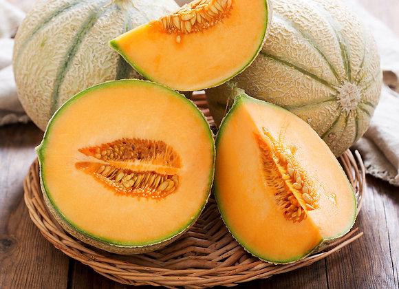 Local Canteloupe (half melon)
