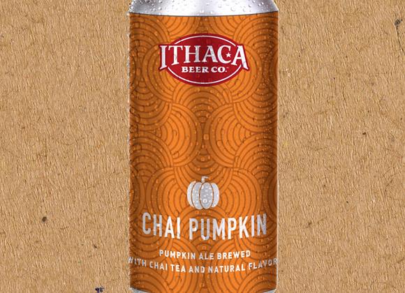 Ithaca Chai Pumpkin (Pumpkin Ale - 4 Pack x 16 oz.)