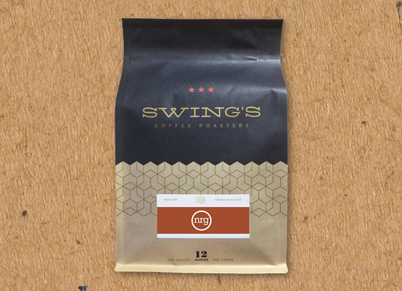 Swing's Coffee: NRG Blend (12 oz)