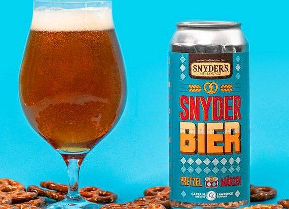 Capt Lawrence Snyder Bier Märzen (Märzen - 4 Pack x 16 oz.)