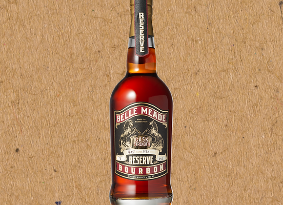 Belle Meade Bourbon Cask Strength Reserve / Bourbon