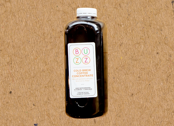Buzz's Cold Brew Concentrate