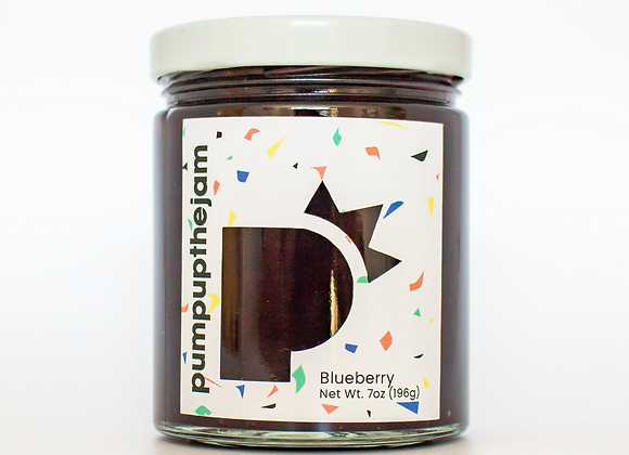 Blueberry Jam (7 oz Jar)