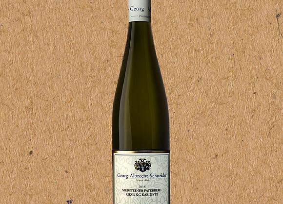 Georg Albrecht Schneider, Riesling Niersteiner Paterberg Kabinett