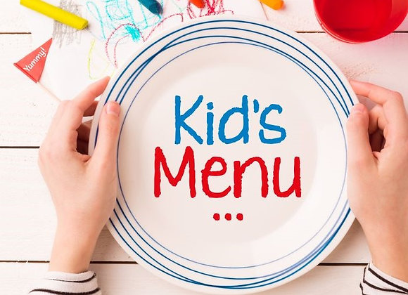 Mother's Day Kids Meal - PRE ORDER