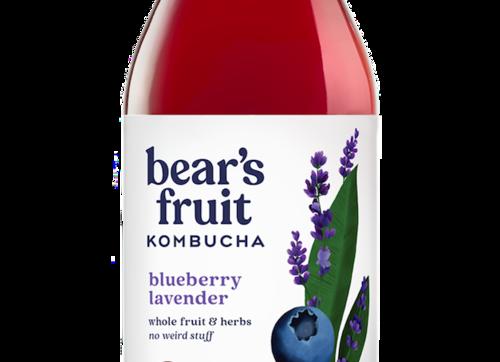 Bear's Fruit Kombucha: Blueberry Lavender (10oz)