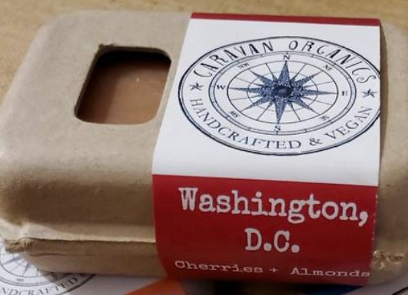 Washington DC (cherries + almonds) Bar Soap