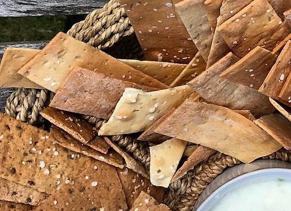 Rosemary & Garlic Crackers (5.5 oz)