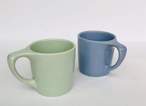 Coffee Cups - Pair of Two Mugs