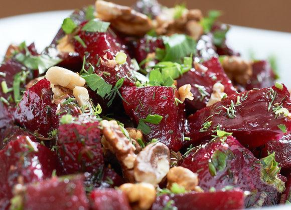 Roasted Beet Salad (serves 2-3)