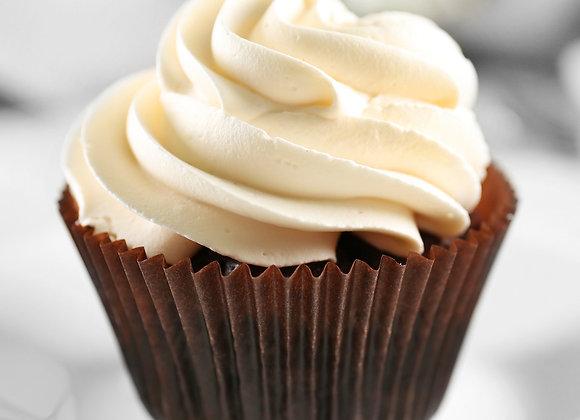 Chocolate Vanilla Cupcake (Each)
