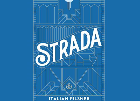 Torch & Crown Strada (Italian Pilsner - 4 pack x 16 oz.)