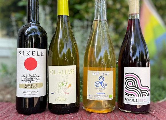 Natural Wine Pack - 4 x 750ml Bottles