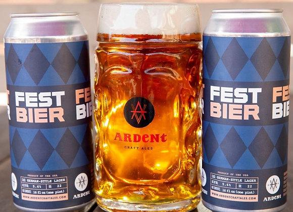 Ardent Festbier (Festbier - 4 Pack x 16 oz.)
