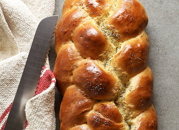 Everything Spice Challah Bread