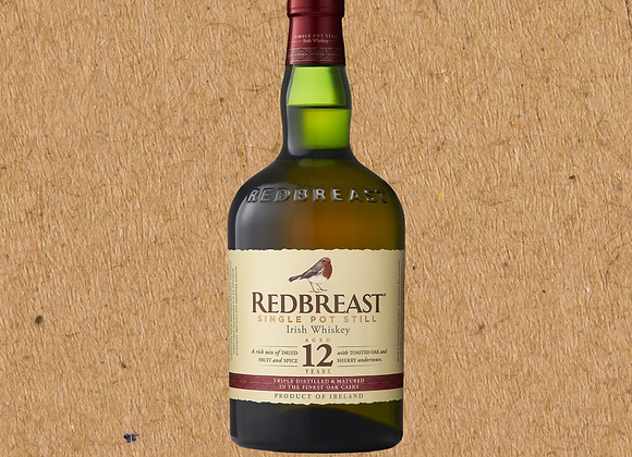 Redbreast 12 Year / Irish Whiskey (PRE-ORDER; DC ONLY)