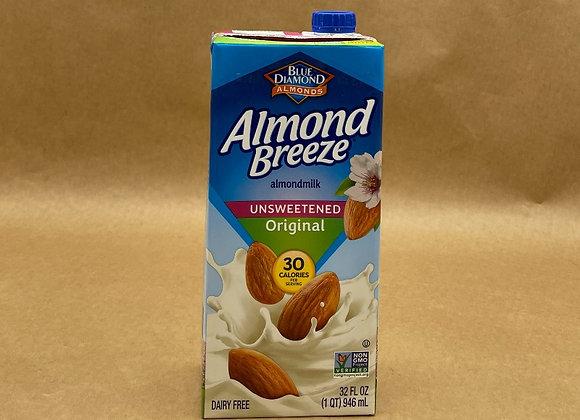Almond Breeze Almond Milk - Unsweetened