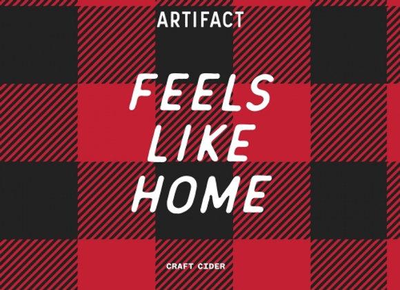 Artifact Feels Like Home (Dry Cider - 4 pack x 12 oz.)