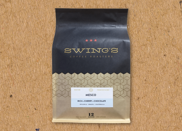 Swing's Coffee: Mesco Blend (12 oz)