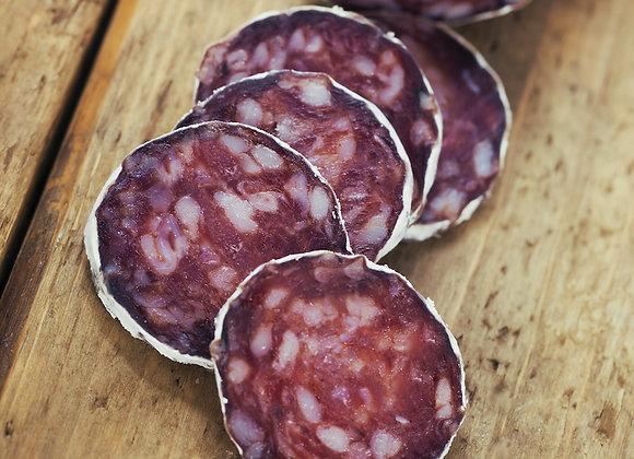 Black Truffle Salami, sliced (2 oz)
